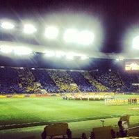 Photo taken at Metalist Stadium by Artem K. on 10/4/2012