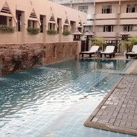 Photo taken at Maninarakorn Hotel by BoomMiez P. on 12/30/2012