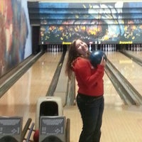 Photo taken at New Hope Bowl & Lounge by Jennifer K. on 10/21/2012