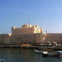 Photo taken at Citadel of Qaitbay by Gladys H. on 10/28/2012