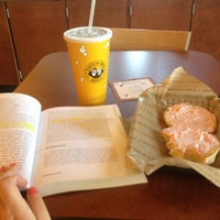 Photo taken at Einstein Bros Bagels by Tiffany on 6/7/2013