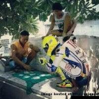 Photo taken at Warung Siomay Renon Depan BPD Bali by Danar K. on 11/6/2012