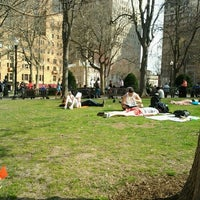 Photo taken at Rittenhouse Square by Garth T. on 4/8/2013