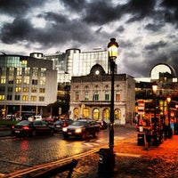 Photo taken at Luxemburgplein / Place du Luxembourg by Luigi G. on 10/17/2013