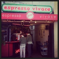 Photo taken at Espresso Vivace Sidewalk Bar by Bill P. on 12/23/2012