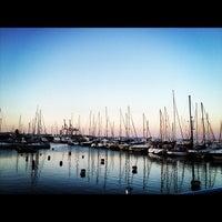 Photo taken at Larnaca Marina by Nurcag on 9/15/2012