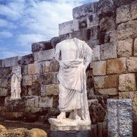Photo taken at Salamis Ruins by Nurcag on 2/9/2013