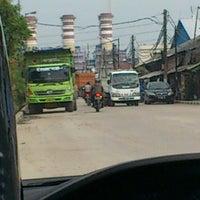 Photo taken at Terminal Bus Tanjung Priok by Tio T. on 2/6/2013