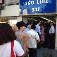 Photo taken at Edifício São Luiz by Dan C. on 10/18/2012