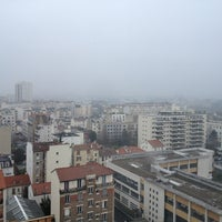Photo taken at Courbevoie by Ece Ç. on 1/26/2013