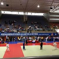 Foto tomada en Complejo Panamericano de Voleibol por Alejandro el 5/28/2013