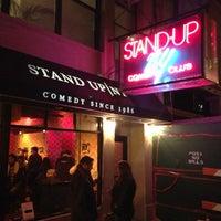 Photo taken at Stand Up NY by Vishnu P. on 11/6/2012
