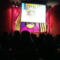 Photo taken at Laugh Factory by Angel M. on 5/12/2013