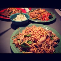 Photo taken at HuHot Mongolian Grill by Ally P. on 12/8/2012