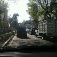 Photo taken at Calzada México-Tacuba by Ivan C. on 12/5/2012