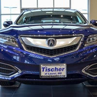 Photo taken at Tischer Acura by Kristin L. on 3/29/2017