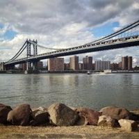 Photo taken at Manhattan Bridge by John T. on 6/9/2013