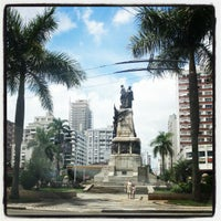 Photo taken at Praça da Independência by Fabio M. on 3/1/2013