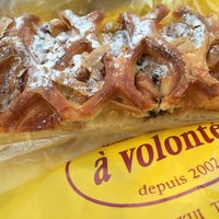 Photo taken at Boulangerie a volonte by はる on 3/2/2014