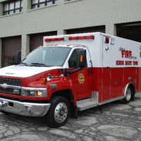 Photo taken at Kokomo Fire Department - Station 1 by Chris M. on 1/24/2017