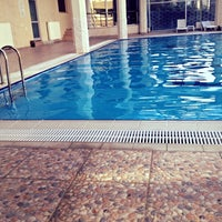 Photo taken at Park Lima Swimming Pool by Merve on 6/29/2013