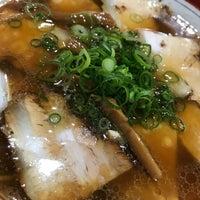 Photo taken at 中華そば山冨士 本町店 by Masahiro on 4/7/2018