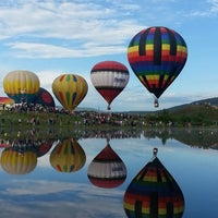 Photo taken at Steamboat Springs Hot Air Balloon Rodeo by Carey B. on 7/14/2013