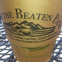 Photo taken at Off The Beaten Path Coffeehouse by Carey B. on 7/16/2013