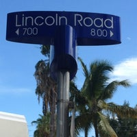 Photo taken at Lincoln Road Mall by JohnChase N. on 7/12/2013
