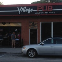 Photo taken at Village Pub - Wilton Manors by JohnChase N. on 4/13/2013