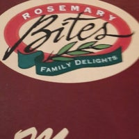 Photo taken at Rosemary Bites by Shera A. on 8/4/2013