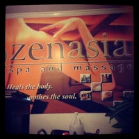 Photo taken at ZenAsia Spa and Massage by Louis D. on 10/6/2013