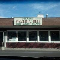 Photo taken at Velasko Pizzeria & Deli by Gina W. on 10/1/2012