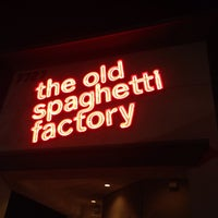 Photo taken at The Old Spaghetti Factory by Debbie F. on 1/21/2014
