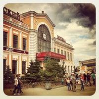 Photo taken at Savyolovsky Rail Terminal by Konstantin D. on 6/27/2013