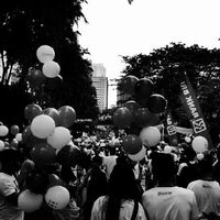 Photo taken at Istora Gelora Bung Karno (Istora Senayan) by Mochammad A. on 12/22/2012