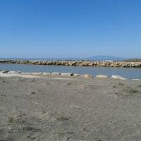 Photo taken at Spiaggia del Gabbiano by Aida C. on 3/3/2013