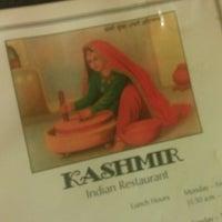 Photo taken at Kashmir Indian Restaurant by Matt C. on 11/19/2013