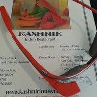 Photo taken at Kashmir Indian Restaurant by Matt C. on 7/16/2013