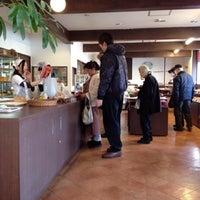Photo taken at 石窯パン工房たんぽぽ by Kazunori N. on 2/9/2013