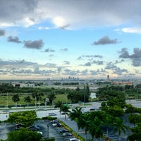 Photo taken at Sheraton Fort Lauderdale Airport & Cruise Port Hotel by Todd S. on 10/9/2012
