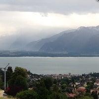 Photo taken at La Tour-de-Peilz by Majed A. on 8/16/2014