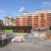 Photo taken at Skatepark - Motta by Valentine on 3/14/2013