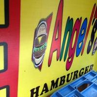 Photo taken at Angel's Burger by Nida L. on 4/2/2013