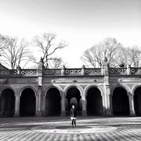 Photo taken at Bethesda Terrace by Kittiphong B. on 3/30/2013