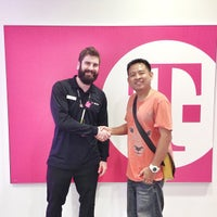 Photo taken at T-Mobile by Kittiphong B. on 8/2/2013