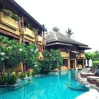 Photo taken at Swimming Pool Deva Samui Resort & Spa by Kittiphong B. on 6/16/2013
