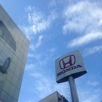 Photo taken at Wong Honda Cars by Kittiphong B. on 9/16/2013