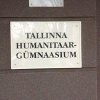 Photo taken at Tallinna Humanitaargümnaasium by Pavel on 11/20/2012