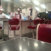 Photo taken at Johnny Rockets by Shaheen on 4/26/2013